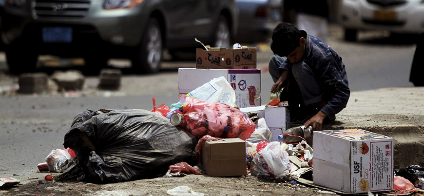 Yemen nüfusunun yüzde 70'i açlıkla boğuşuyor