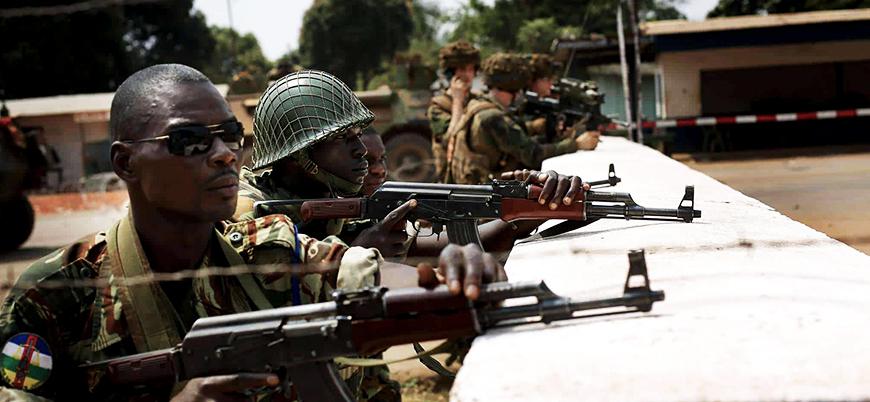 Fransa'dan Orta Afrika Cumhuriyeti'ne silah desteği