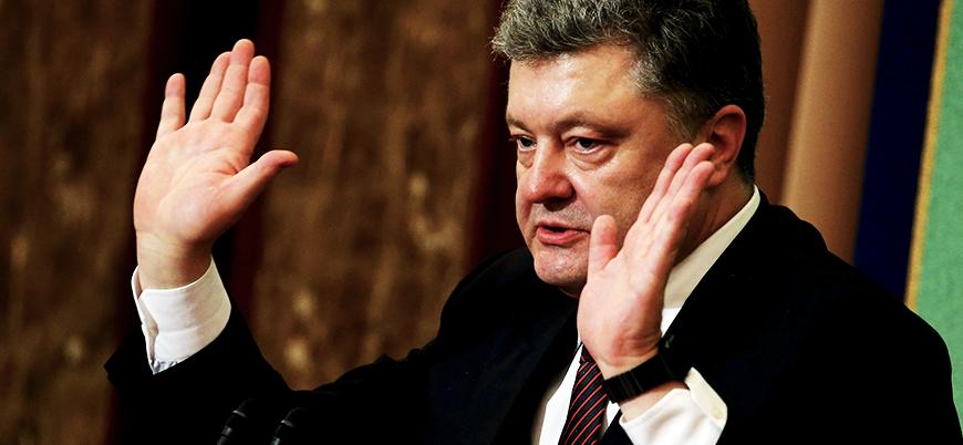 Poroşenko: Sayın Putin, bu kriz değil savaş