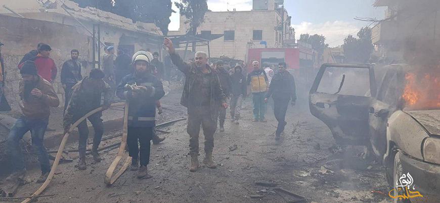 Fırat Kalkanı bölgesi Azez'de bombalı araç saldırısı
