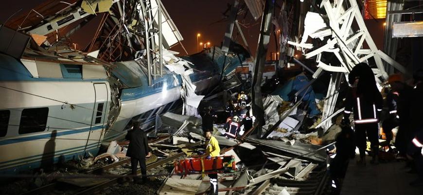 Ankara'da tren kazası: 4 kişi hayatını kaybetti
