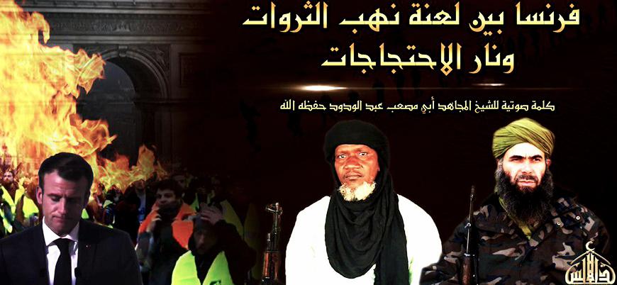 El Kaide lideri Abdulvedud'dan Fransa'ya 'Sarı Yelekliler' mesajı