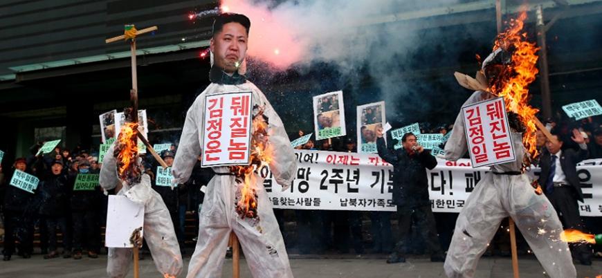 Kim Jong-un'un Güney Kore ziyaret planı halkı sokağa döktü