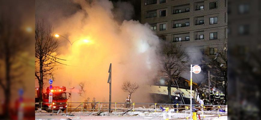 Japonya'daki bir restoranda patlama meydana geldi