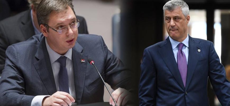 BM'de gerginlik: Sırp ve Kosovalı liderler karşı karşıya geldi