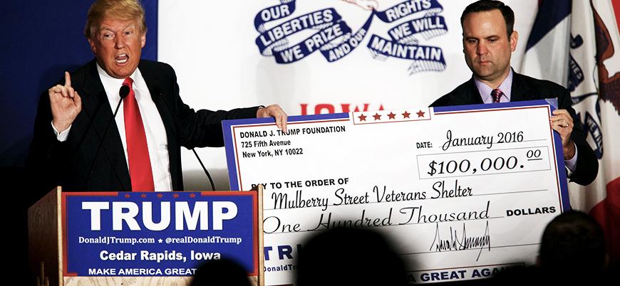 Trump Vakfı usulsüzlük iddiaları üzerine kapanıyor
