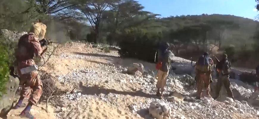 IŞİD Somali'de Eş Şebab'a düzenlediği saldırının görüntülerini yayınladı