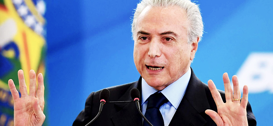 Brezilya devlet başkanına rüşvet suçlaması