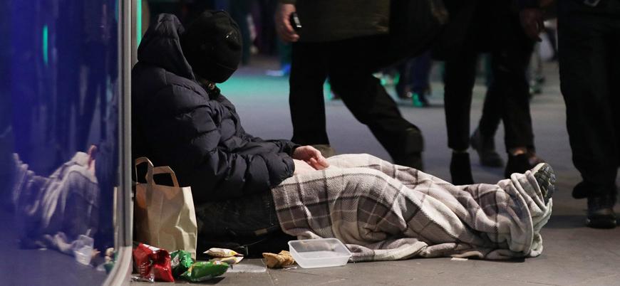 İngiltere'de bir yılda 600 evsiz öldü