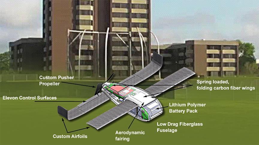 """ABD """"mikro drone sürüsü"""" testini tamamladı"""