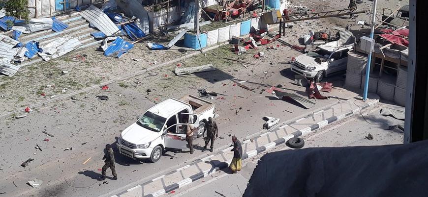 Somali'nin başkenti Mogadişu'da bombalı araç saldırısı
