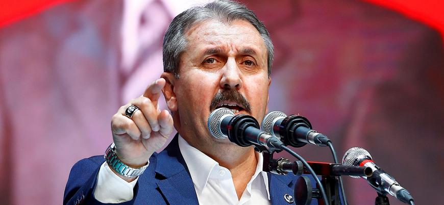 Destici: HDP'nin Hazine'den para alması haramdır