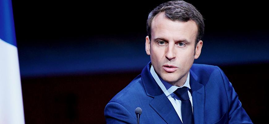 Macron: Doğu Akdeniz'de kalmaya devam edeceğiz