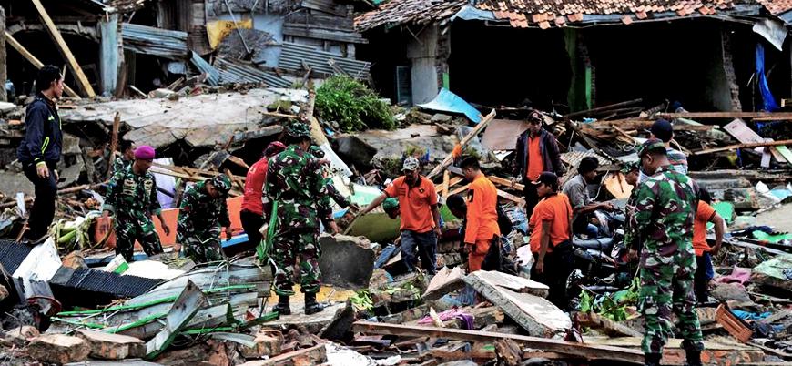 Endonezya'da ölü sayısı 373'e yükseldi