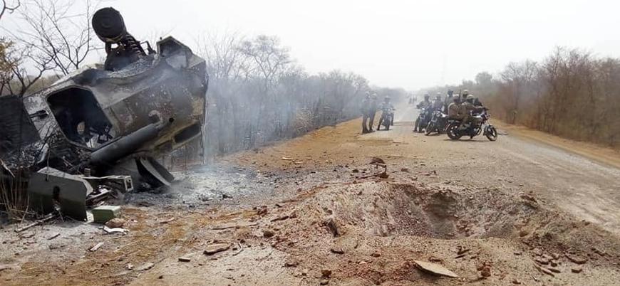 Burkina Faso'da askeri araca bombalı saldırı: Biri teğmen üç asker öldü