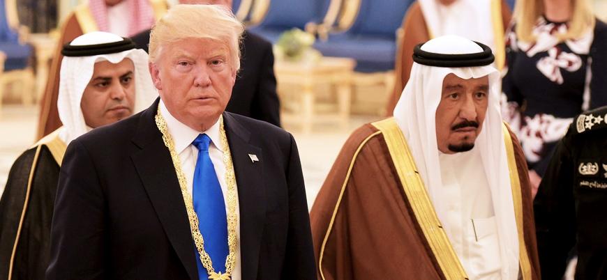 Trump teşekkür etti: ABD'nin yerine Suudi Arabistan para harcayacak