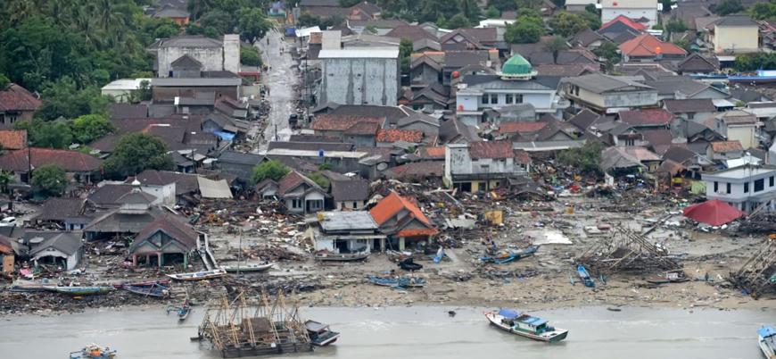 Endonezya'daki tsunamide can kaybı 429'a ulaştı