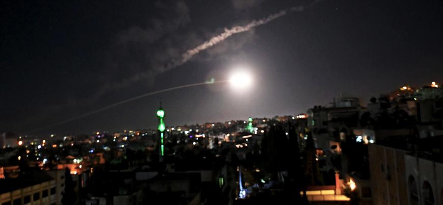İsrail'den Suriye'de Hizbullah hedeflerine hava saldırısı