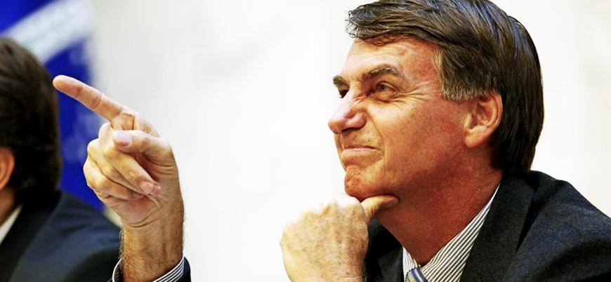 Bolsonaro'ya tepki: Tecavüzü özendiren bir adam devlet başkanımız oluyor