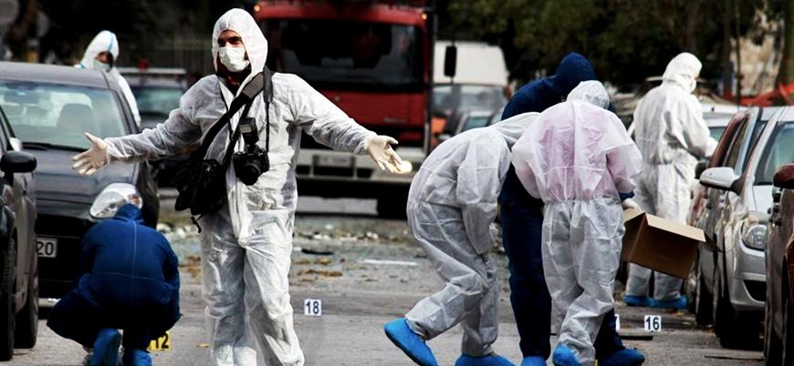 Yunanistan'da patlama: 1 polis yaralı