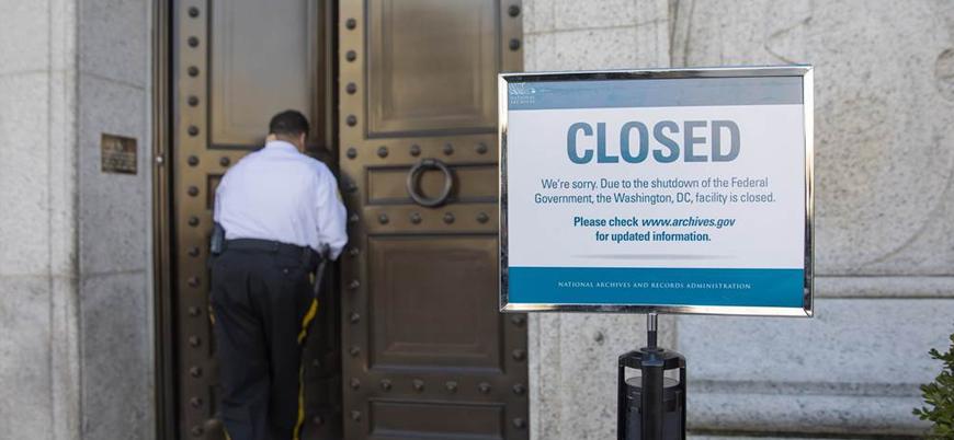 ABD'de bütçe krizi: Hükümet 6 gündür 'kapalı'
