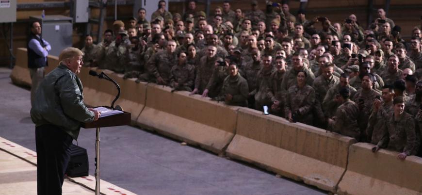 Trump Irak'taki askerlerin yerlerini ve yüzlerini deşifre etti