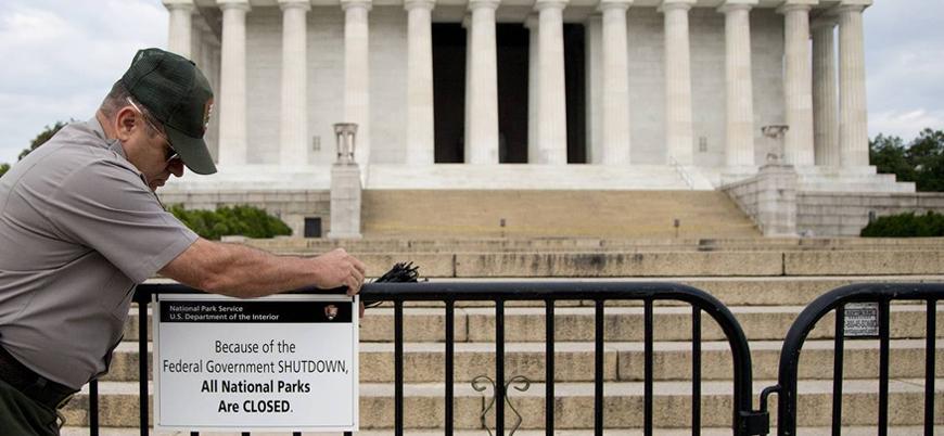ABD'de hükümetin kapanması krize neden oldu