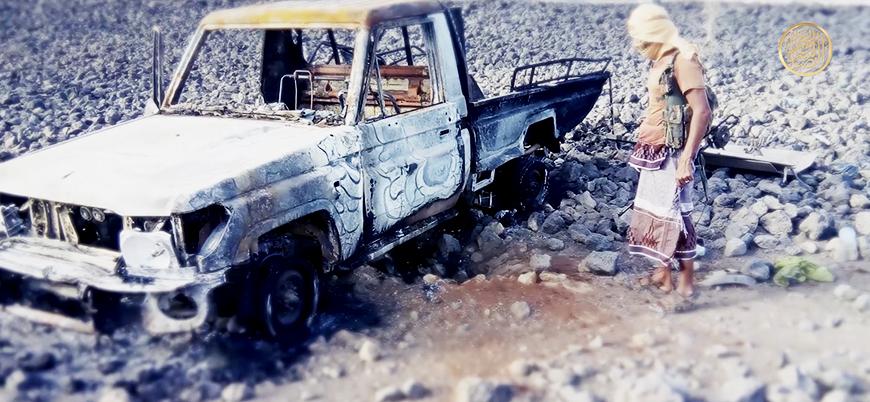 El Kaide Yemen'de BAE destekli güçlere yönelik saldırıların görüntülerini yayınladı