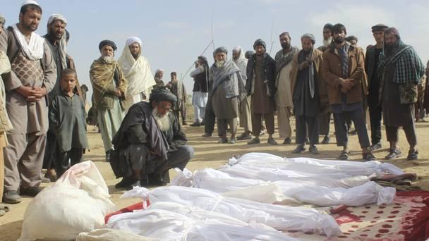 ABD, Afganistan'da 33 sivilin öldüğü saldırıyı üstlendi