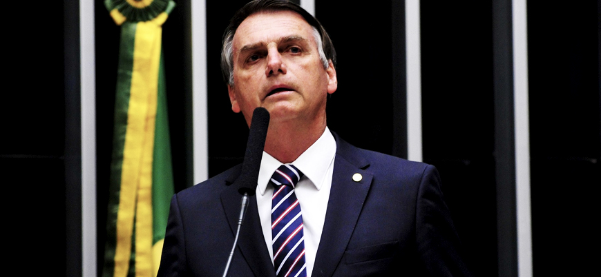Brezilya'da yeni devlet başkanı Bolsonaro göreve başladı