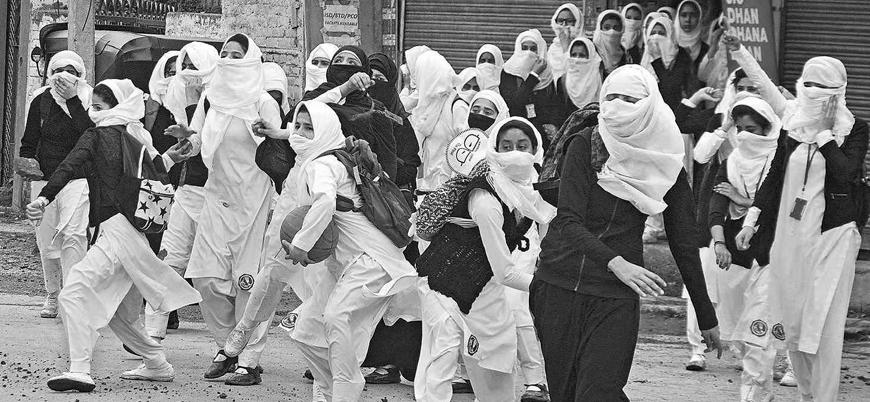 Keşmir'de Hint askerlerinden Müslüman kız öğrencilere sistematik cinsel taciz
