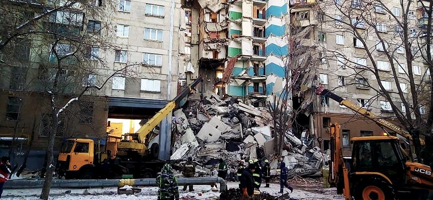 Rusya'daki patlama sebebiyle ölenlerin sayısı 37'ye yükseldi