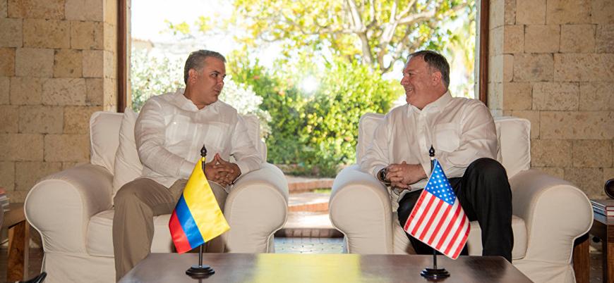 ABD ve Kolombiya'dan 'Venezuela'ya diplomatik tecrit' kararı