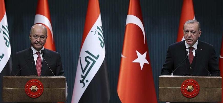 Erdoğan Irak cumhurbaşkanıyla görüştü