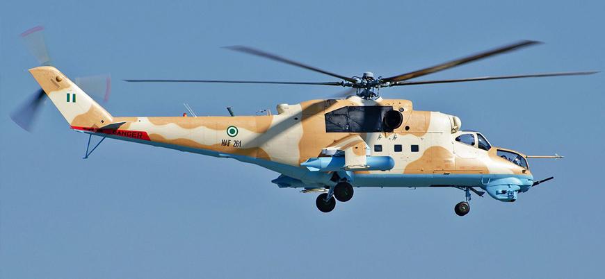 Nijerya'da askeri helikopter düştü: 5 ölü