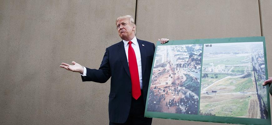 Trump 'duvar' konusunda ısrarcı: 'Hükümet yıllarca kapalı kalabilir'