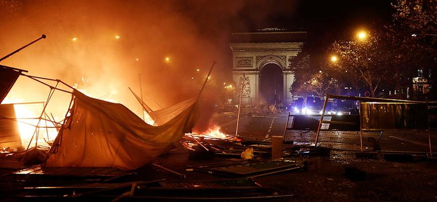 Fransa: Sarı Yeleklilerin amacı hükümeti devirmek