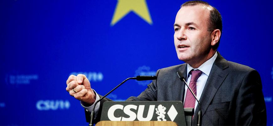Weber: Seçimi kazanırsam Türkiye'nin AB'ye katılım sürecini sonlandıracağım