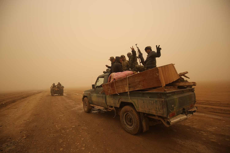 Doğu Musul'un yüzde 60'ı IŞİD'den alındı