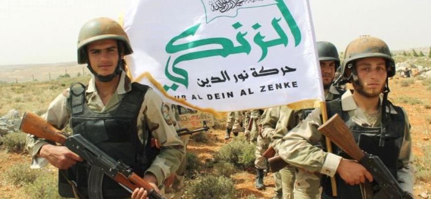 """""""HTŞ ile çatışma sonrası Nureddin Zenki hareketi mensupları Afrin'e gitti"""""""