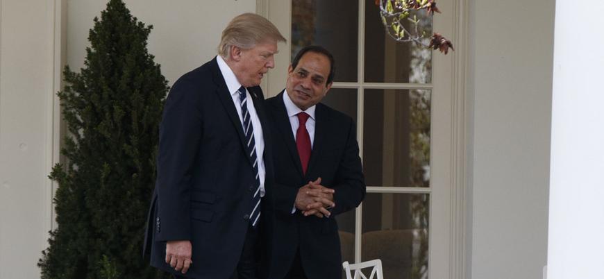 Trump'tan Sisi'ye övgü: Mısır'ı daha kapsayıcı bir geleceğe götürüyor
