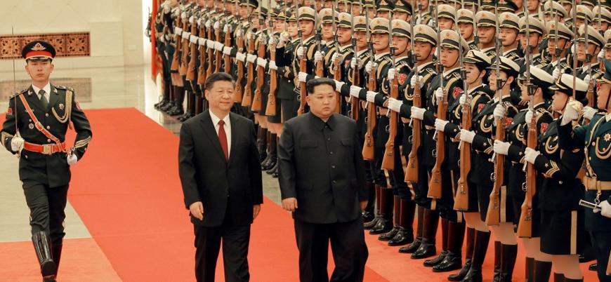 Kuzey Kore lideri Kim Jong-Un Pekin ziyaretinde