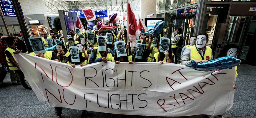 Almanya'da havalimanı grevi: En az 640 uçuş iptal edildi