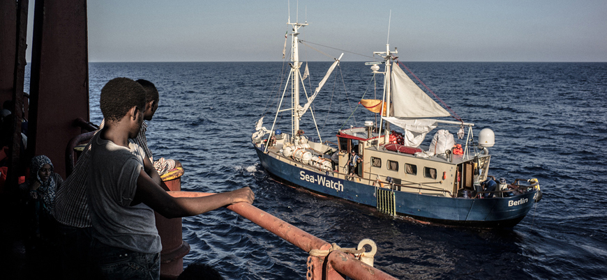 Akdeniz'de kurtarılmayı bekleyen 49 mülteci 8 ülkeye dağıtılacak