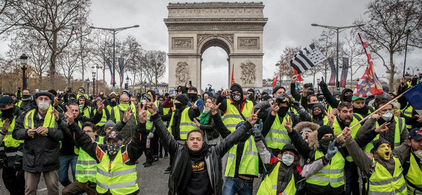 Fransız Bakan: Sarı Yelekliler'in arkasında dış güçler olabilir