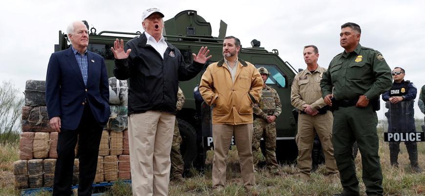 Duvar krizi: Trump Meksika sınırını ziyaret etti