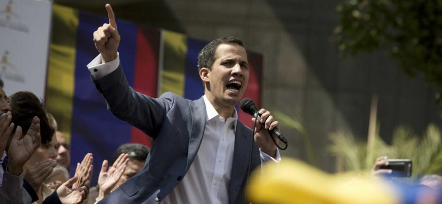 Venezuela muhalefeti halkı ve askeri protestoya çağırdı