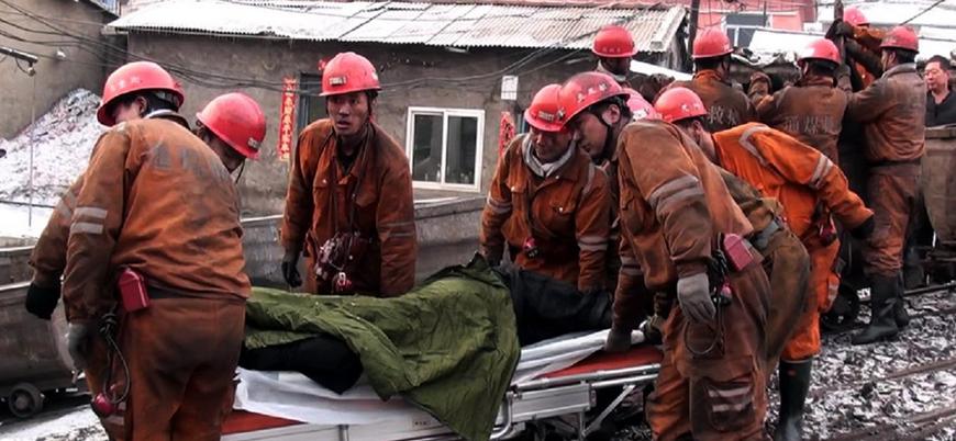Çin'de kömür madeninde gerçekleşen kazada 21 işçi öldü
