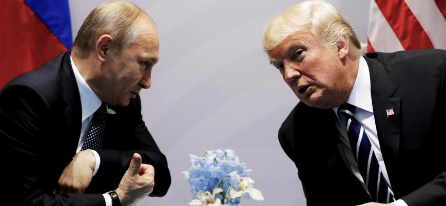 """""""Trump Putin ile yaptığı görüşmeleri gizledi"""""""