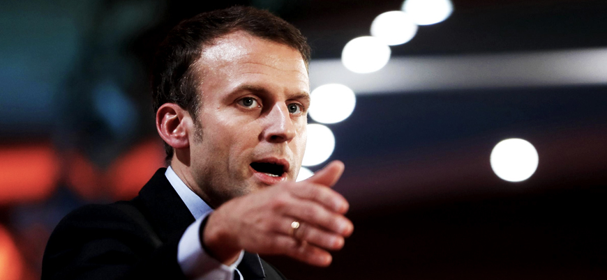 Macron: Türkiye'nin Suriye'de başlattığı harekat çılgınlık